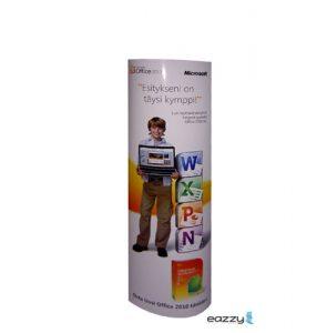 Eazzy kartonnen presentatie zuilen displays zijn leverbaar in tal van standaard maten of custom made!