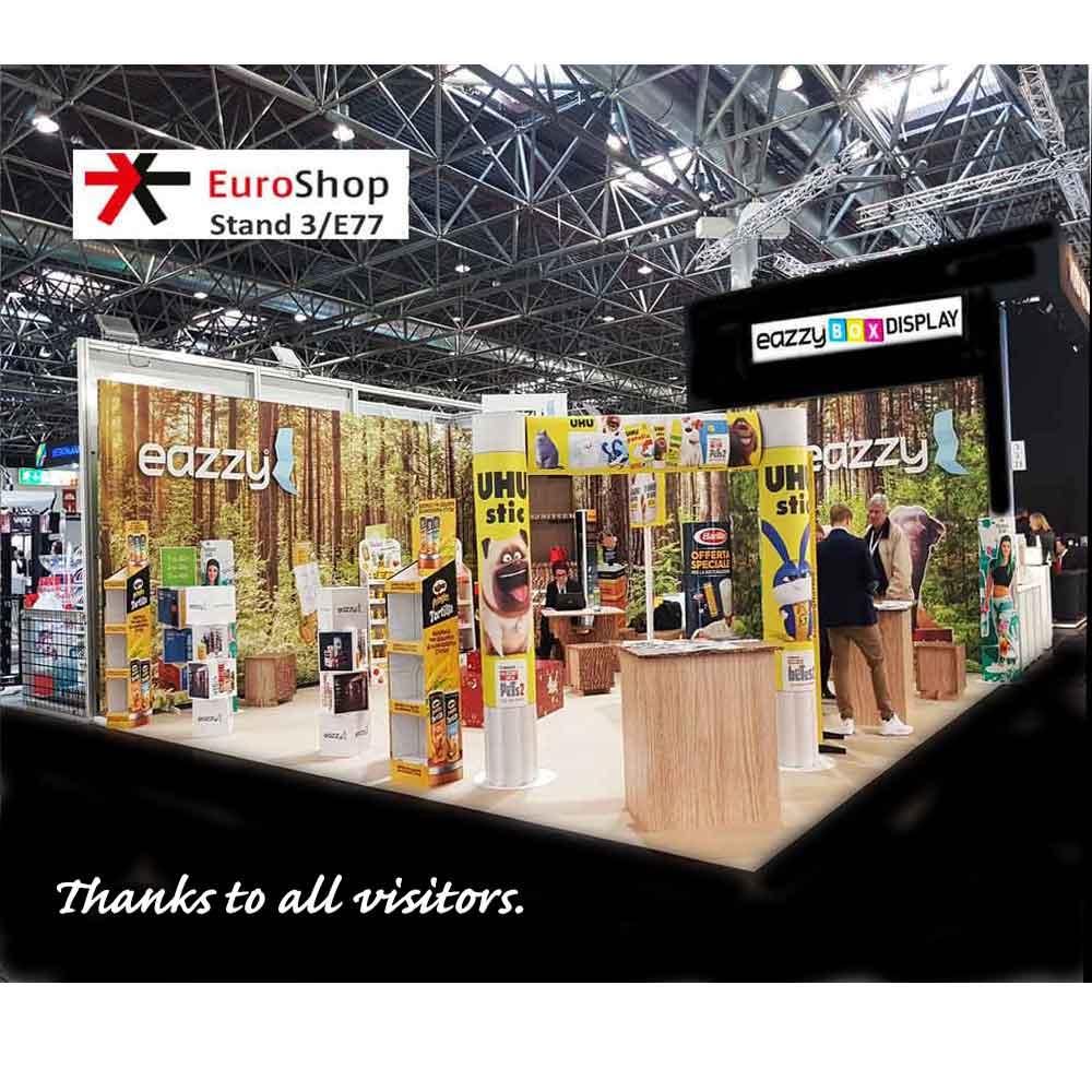 Emerson TEN OU bedankt allen voor uw bezoek Euroshop